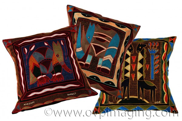 Studio Shoot of cushions