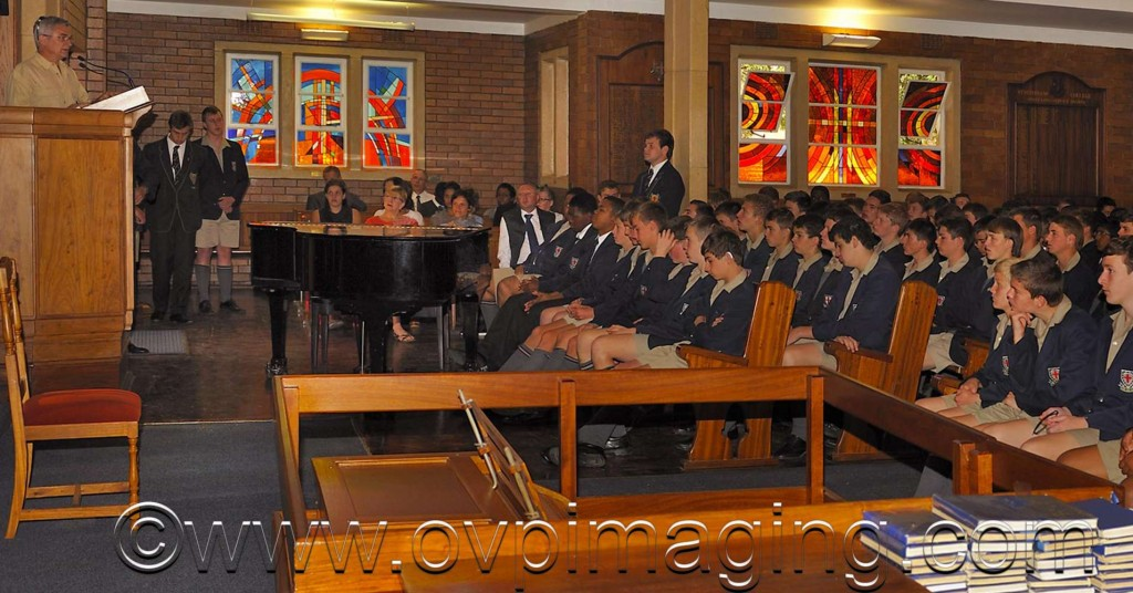 Dave Estment at St Stithians Boys' College
