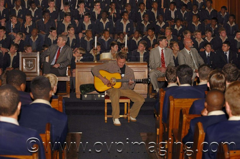 Jason Hartman at St Stithians Boy's College