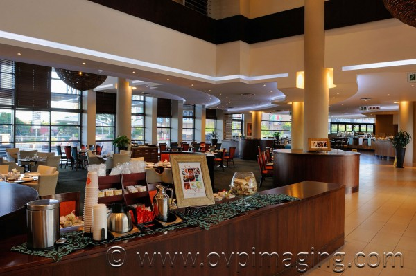 City Lodge Hotel Fourways Reception and Dining Area