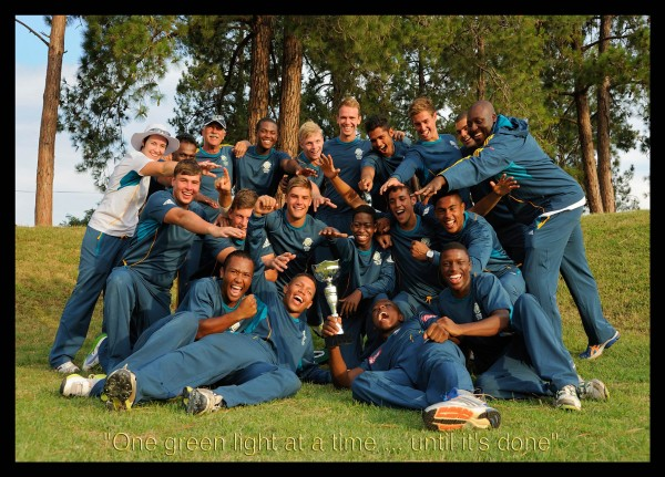 ICC U-19 South African World Cup Team