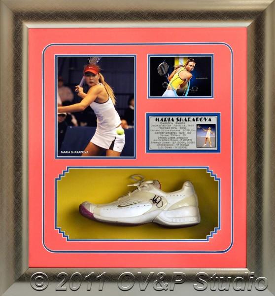 Maria Sharapova framed memorabilia