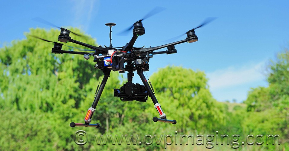 Aerial Drone with Camera