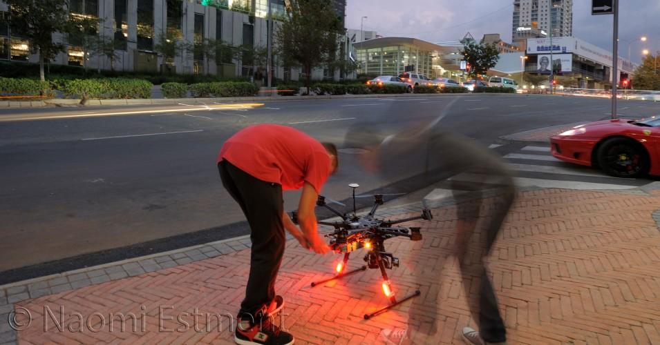 Aerial Drone Night Shoot