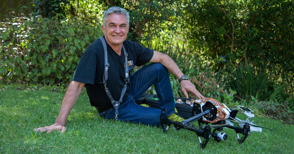 Dave Estment, Licenced Drone Pilot