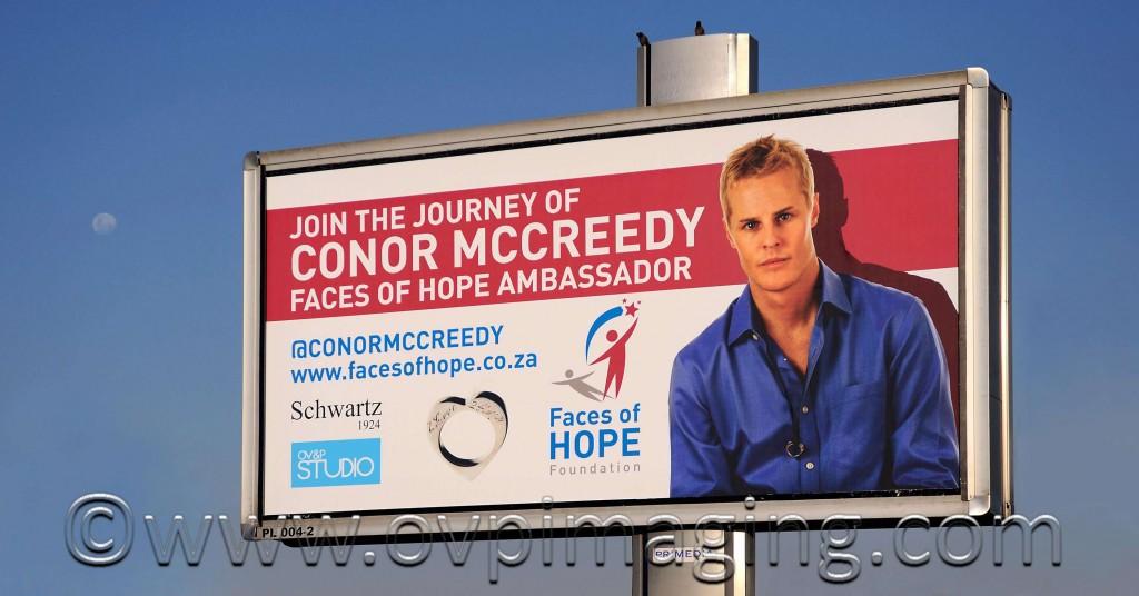 Faces of Hope billboard