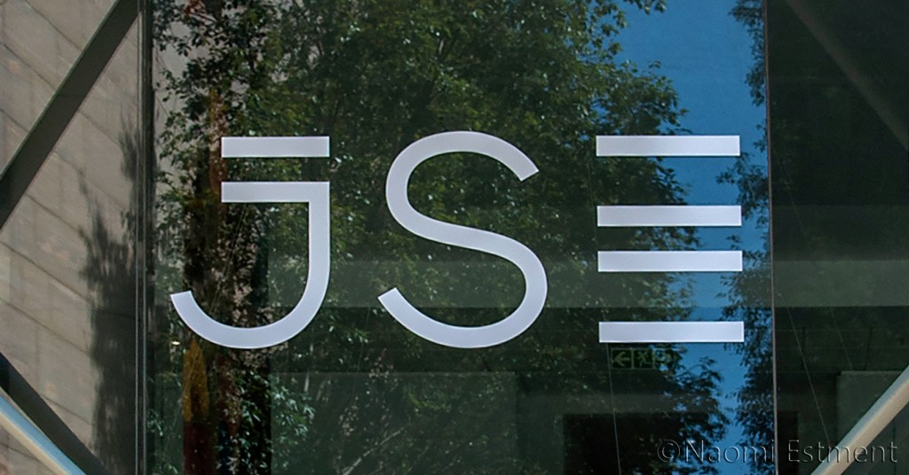 Johannesburg Stock Exchange Signage