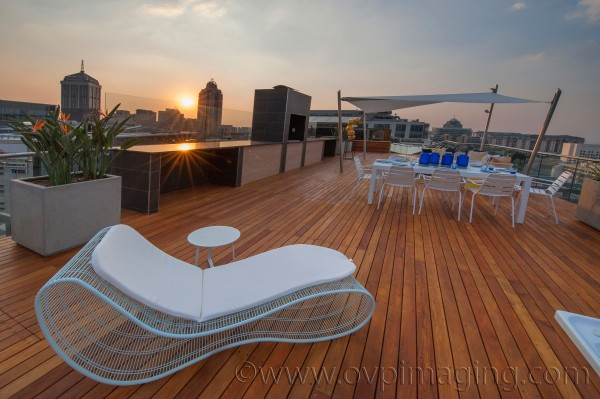 Penthouse Roof Deck at Katherine & West, Sandton