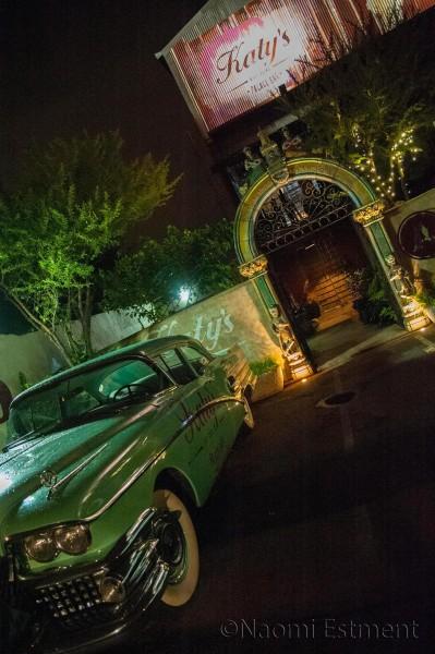 Entrance to Katy's Palace Bar