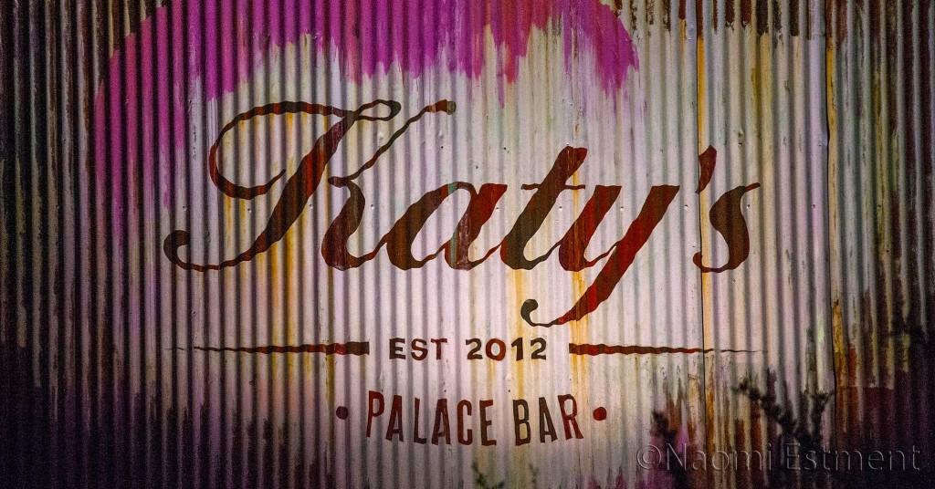 Katy's Palace Bar Signage