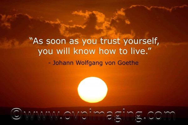 Sunset & Quote by Outdoor Video & Photographic