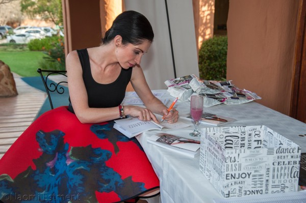Petra Laranjo Signing Her Book