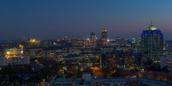 Aerial Image of Sandton by Dave Estment of OV&P